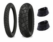 90/90-21 And 120/80-18 Shinko 705 Tires And Tubes Xr250l, Crf250l, Klx250s, Dr350s