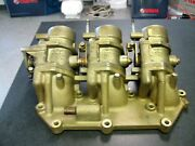 Yamaha Outboard F225 Manifold 1 69j-13641-00-00 With Throttle Bodies