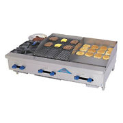 Comstock Castle Fhp48-18-1.5rb 48 Gas Griddle/charbroiler - Iron Radiants