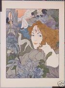 Georges Defeure Vintage Lithograph The Women Circa 1895-1900