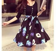 Plus Size Dresses Casual Sleeve Cocktail Party Evening Short Dress