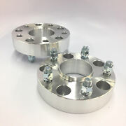 2pc 2 Thick Hub Centric Wheel Spacers Adapters For Ram 1500 2012-2018 5x5.5