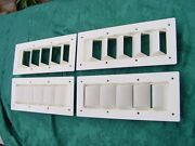 Sea Ray Silverton Boat Vent Louver 14 Bilge Exhaust Six Vents Save 6 Pack