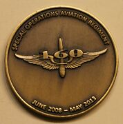 160th Special Operations Aviation Regt Soar Mh-47g Army Challenge Coin