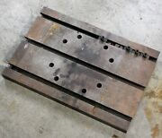 Taft Peirce Manufacturing Company, 18x12 Compound Rotating T Slot Table - Used