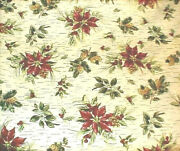 Longaberger Rare Retired Holiday Botanical Fabric-shop My Store For More