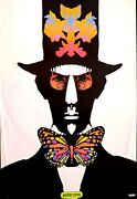 Top Cat - Peter Max Psychedelic Poster 1967 - Large Rare Original Scarce