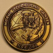 National Security Agency Nsa/css Fort Meade Operations Center Moc Challenge Coin