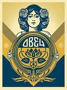 Obey Peace Holiday 2016 Screen Print By Shepard Fairey Signed 18 X 24 Ed 575