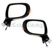 For 09-13 Is250/is350 Rear View Mirror Power Heated W/turn Signal Light Set Pair