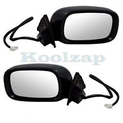01-06 Ls430 Rear View Mirror Power Folding Heated Memory W/puddle Lamp Set Pair