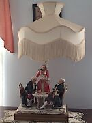 Hand-painted Victorian Figurine Antique Lamps