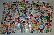 Huge Dealer Lot Of 600 Collectible Buttons Pin Backs Political Advertising More