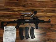 Airsoft Ak-47 With Accessories