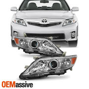 Fits 10-11 Toyota Camry Le Xle [us Built Model] Projector Headlights Replacement