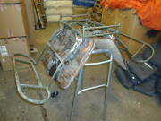 Swiss Army Leather Pack Saddle Steel Frame