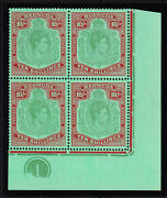 Bermuda 1938-53 10/- With And039broken Lower Right Scrolland039 Sg 119ce Mnh.