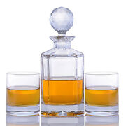 Crystal Whiskey Decanter And Glasses Sets By Crystalize
