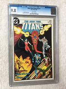 New Teen Titans Vol 2 1 Dc Comics August 1984 Cgc 9.8 White Pages Free Reader