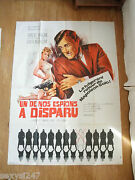 One Of Our Spies Is Missing Man From Uncle 1966 Original Cinema Grande Poster