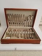 Holmes And Edwards 1937 Lovely Lady Silverware Flatware Set Service For 8
