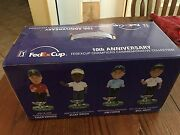 Fedex Cup Championship Bobbleheads-commemorative Collection 10th Anniversary 8