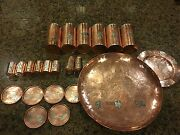 6 Drinking Shot Coasters 1 Salt 1 Pepper 1 Serving 1 Plate Victoria Taxco Mexico