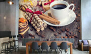 3d Coffee Coffee Bean Wall Paper Wall Print Decal Wall Deco Indoor Wall Murals
