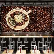 3d Coffee Beans 2 Wall Paper Wall Print Decal Wall Deco Indoor Wall Murals