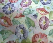 Longaberger Rare Retired Morning Glory Fabric - Shop Our Store For More
