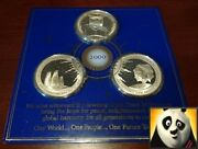 2000 Dawn New Millennium Kiribati And Pitt And Balleny Islands Silver Coin Medals