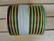 American Flyer Rainbow Wire Fc4c Flat 4 Color Wire Greenyellowblackred 500 Ft