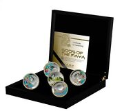 New Niue 2015 Silver 5 Coin Set Gods Of Maya Low Mintage 2000