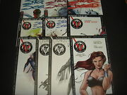 Powers That Be / Star Seed 1-9 Plus B And W Promos Complete Set Defiant Comics Nm