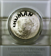 1972 Harry S Truman Gem Proof 25th Anniversary Of Israel Sterling Silver Medal