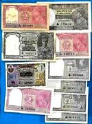 British Pakistan British India Hyderabad Rare Banknotes - Choose Your Note