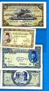 Rare Egyptian Banknotes - King Farouk Etc Xf+ - Unc - Choose Your Banknote