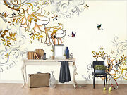 3d Totem Flowers 3423 Wall Paper Wall Print Decal Wall Deco Indoor Wall Murals