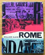 Signed - William Klein - Rome - 1959 1st Edition With Dust Jacket - Nice Copy