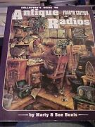 1987 Book Collector's Guide To Antique Radios Fourth Edition, Id And Values