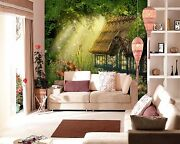 3d Forest Cottage Fairy Tale 97 Wall Paper Wall Print Decal Wall Aj Wallpaper Ca