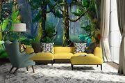 3d Fantasy Forest 345 Wall Paper Wall Print Decal Wall Deco Indoor Wall Murals