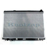 New 1-row Radiator Assembly For 06-10 M45 M-45 V8 And 09-10 M-35 M35 V6 Auto Trans