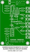 Blank Printed Circuit Board For The 101 Minimum Theremin