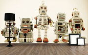 3d Robot Toy Painting 6847 Wall Paper Wall Print Decal Wall Aj Wallpaper Ca