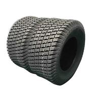 Two 23x10.50-12 Lawn Mower Tires 23x1050-12 Lawn Tractor Turf 23 1050 12 Nhs
