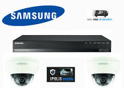 Samsung Full Hd 1080p Ip Network 2mp Cctv Home Business Security Kit Day/night
