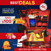 Hilti Dx A41 Powder Actuated Tool Brand New Free Tablet Fast Ship