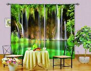 3d Lake Water 33blockout Photo Curtain Printing Curtains Drapes Fabric Window Ca