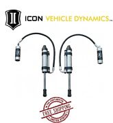 Icon Omega Series Bypass Rr Front S2 Secondary Shocks For 07-14 Fj Cruiser